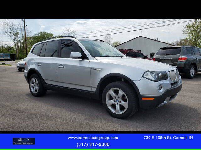 2007 BMW X3 for sale at Carmel Auto Group in Indianapolis IN