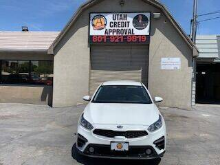 2019 Kia Forte for sale at Utah Credit Approval Auto Sales in Murray UT