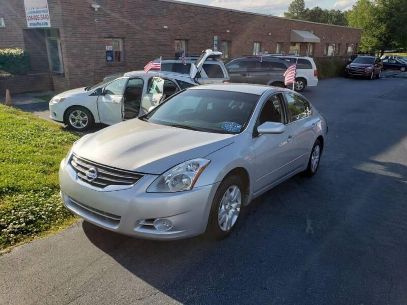 2012 Nissan Altima for sale at ARA Auto Sales in Winston-Salem NC