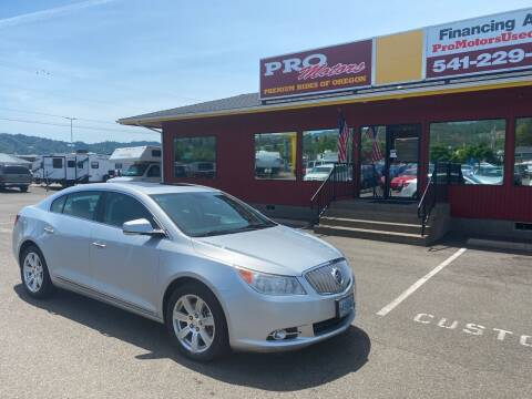 2011 Buick LaCrosse for sale at Pro Motors in Roseburg OR