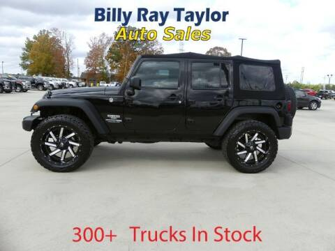 2018 Jeep Wrangler JK Unlimited for sale at Billy Ray Taylor Auto Sales in Cullman AL