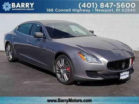 2016 Maserati Quattroporte for sale at BARRYS Auto Group Inc in Newport RI