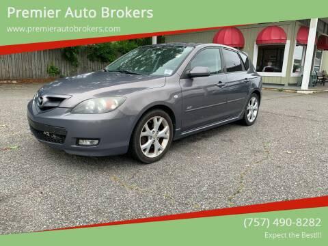 2007 Mazda MAZDA3 for sale at Premier Auto Brokers in Virginia Beach VA