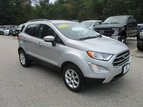 2018 Ford EcoSport for sale at MC FARLAND FORD in Exeter NH