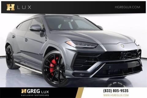 2019 Lamborghini Urus for sale at HGREG LUX EXCLUSIVE MOTORCARS in Pompano Beach FL