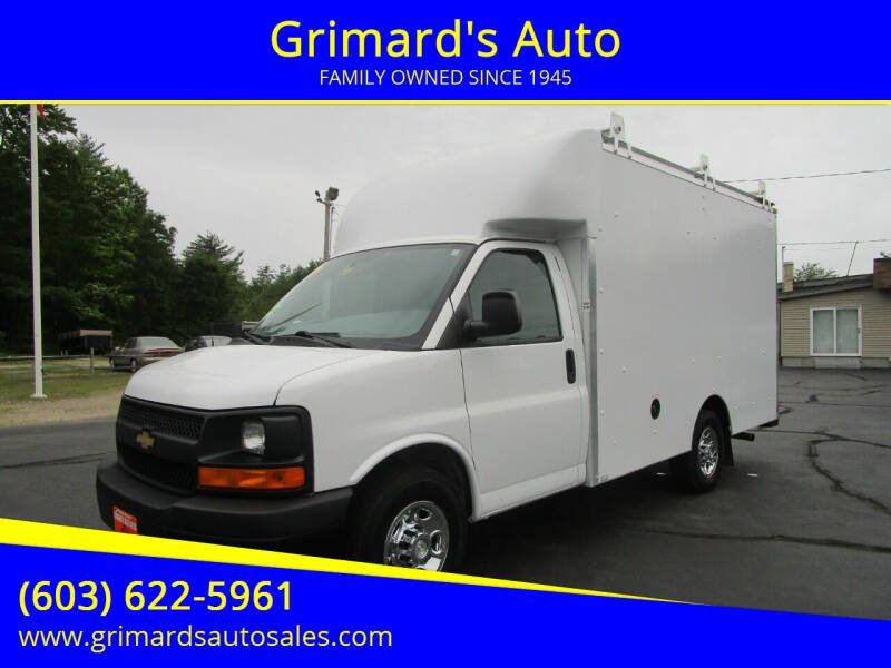 2014 Chevrolet Express Cutaway for sale at Grimard's Auto in Hooksett NH