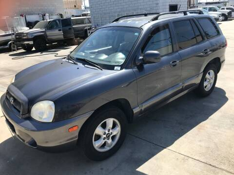2005 Hyundai Santa Fe for sale at OCEAN IMPORTS in Midway City CA