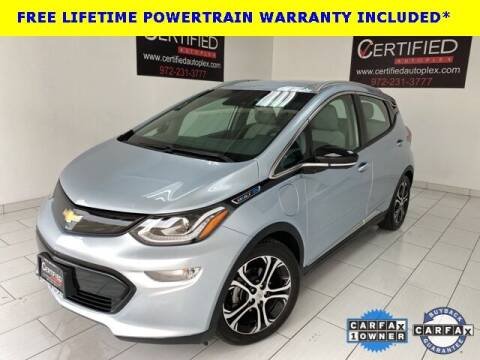 2017 Chevrolet Bolt EV for sale at CERTIFIED AUTOPLEX INC in Dallas TX