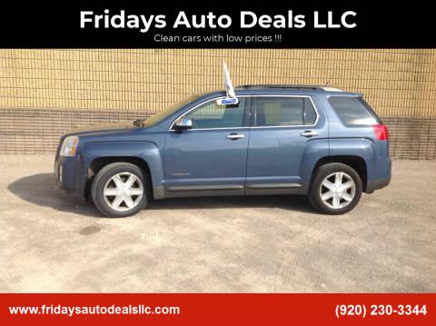 2012 GMC Terrain for sale at Fridays Auto Deals LLC in Oshkosh WI