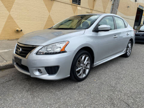 2014 Nissan Sentra for sale at Drive Deleon in Yonkers NY