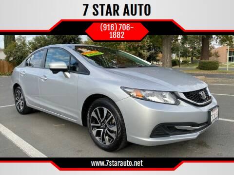 2014 Honda Civic for sale at 7 STAR AUTO in Sacramento CA