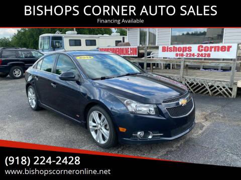 2014 Chevrolet Cruze for sale at BISHOPS CORNER AUTO SALES in Sapulpa OK