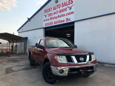 2007 Nissan Frontier for sale at Ricky Auto Sales in Houston TX