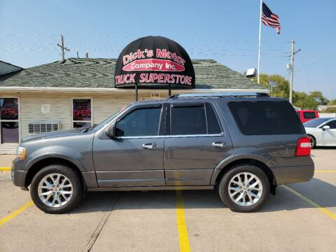 2016 Ford Expedition for sale at DICK'S MOTOR CO INC in Grand Island NE