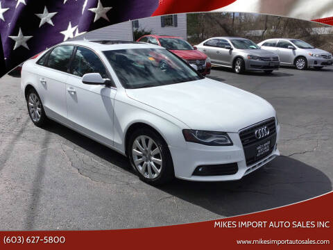 2010 Audi A4 for sale at Mikes Import Auto Sales INC in Hooksett NH