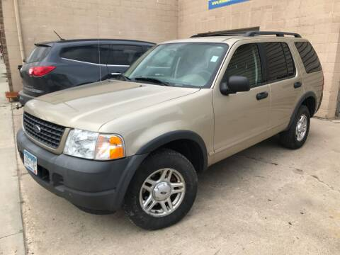 2003 Ford Explorer for sale at MINNESOTA CAR SALES in Starbuck MN