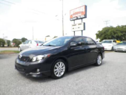 2009 Toyota Corolla for sale at Autohaus of Greensboro in Greensboro NC
