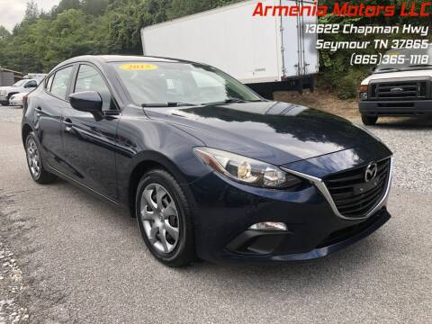 2015 Mazda MAZDA3 for sale at Armenia Motors in Seymour TN