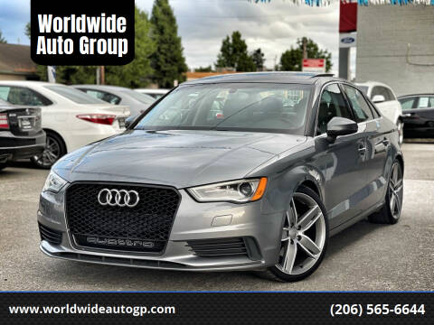 2015 Audi A3 for sale at Worldwide Auto Group in Auburn WA