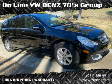 2007 Mercedes-Benz R-Class for sale at On Line VW BENZ 70's Group in Warehouse CA