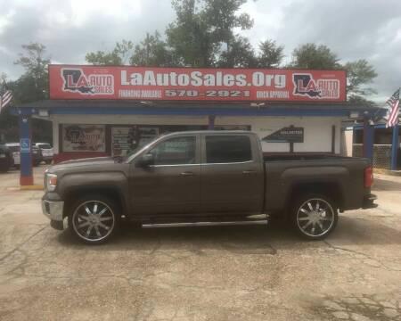 2014 GMC Sierra 1500 for sale at LA Auto Sales in Monroe LA