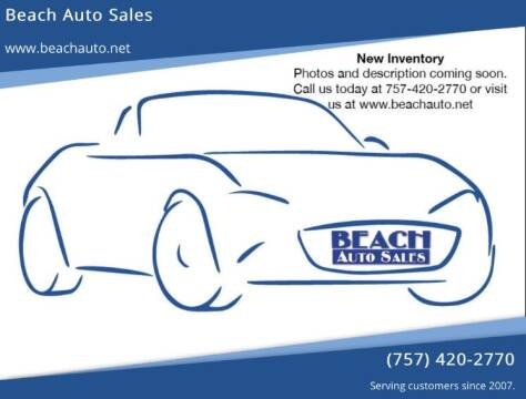 2009 Ford Fusion for sale at Beach Auto Sales in Virginia Beach VA