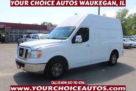 2012 Nissan NV Cargo for sale at Your Choice Autos - Waukegan in Waukegan IL