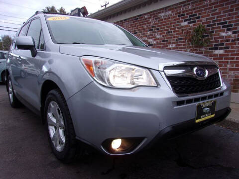 2014 Subaru Forester for sale at Certified Motorcars LLC in Franklin NH