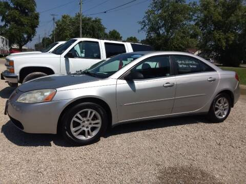 2006 Pontiac G6 for sale at Economy Motors in Muncie IN
