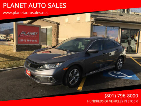 2019 Honda Civic for sale at PLANET AUTO SALES in Lindon UT