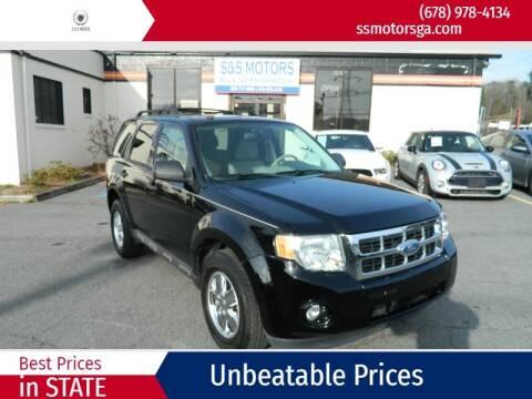 2012 Ford Escape for sale at S & S Motors in Marietta GA
