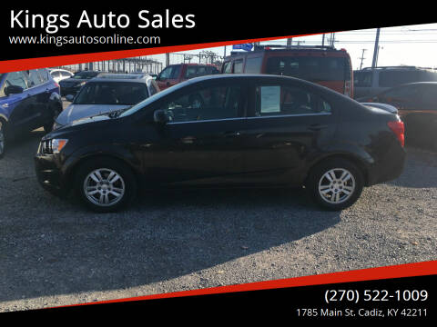 2014 Chevrolet Sonic for sale at Kings Auto Sales in Cadiz KY
