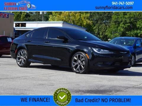2016 Chrysler 200 for sale at Sunny Florida Cars in Bradenton FL