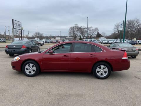 2008 Chevrolet Impala for sale at Peak Motors in Loves Park IL