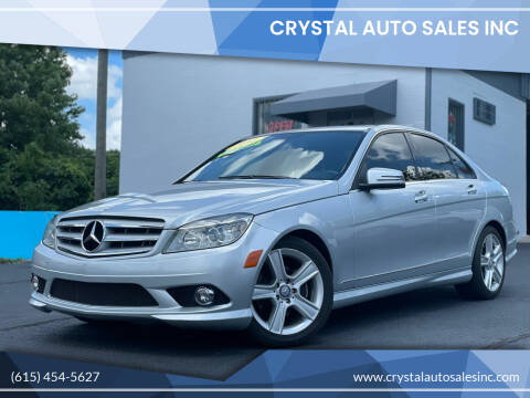 2010 Mercedes-Benz C-Class for sale at Crystal Auto Sales Inc in Nashville TN
