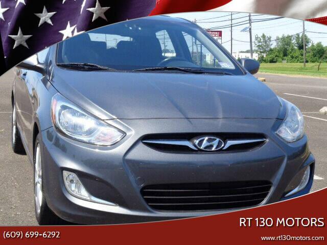 2012 Hyundai Accent for sale at RT 130 Motors in Burlington NJ
