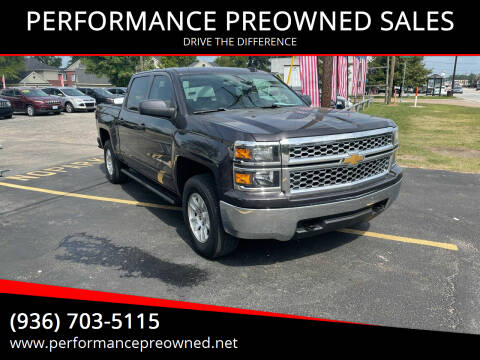 2015 Chevrolet Silverado 1500 for sale at PERFORMANCE PREOWNED SALES in Conroe TX
