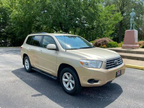 2008 Toyota Highlander for sale at BOOST AUTO SALES in Saint Charles MO