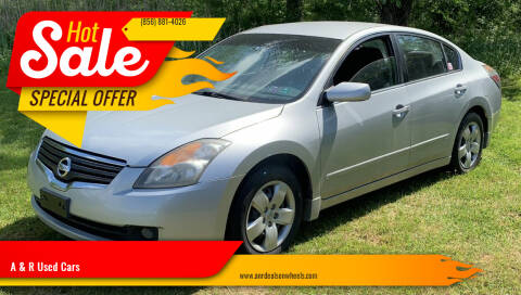 2008 Nissan Altima for sale at A & R Used Cars in Clayton NJ