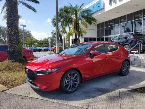 2021 Mazda Mazda3 Hatchback for sale at Mazda of North Miami in Miami FL