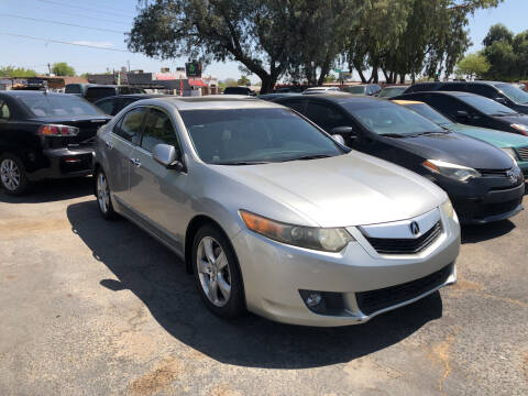 2009 Acura TSX for sale at Valley Auto Center in Phoenix AZ