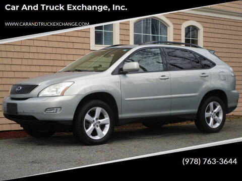 2004 Lexus RX 330 for sale at Car and Truck Exchange, Inc. in Rowley MA