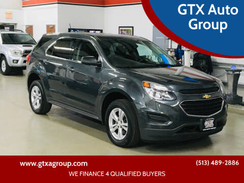 2017 Chevrolet Equinox for sale at GTX Auto Group in West Chester OH