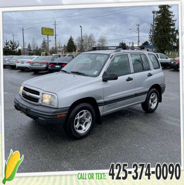2001 Chevrolet Tracker for sale at Corn Motors in Everett WA