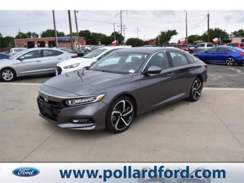 2020 Honda Accord for sale at South Plains Autoplex by RANDY BUCHANAN in Lubbock TX