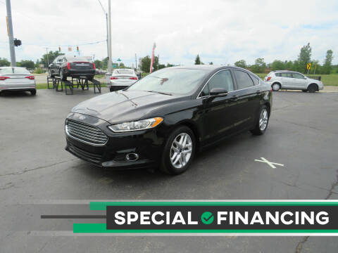 2016 Ford Fusion for sale at A to Z Auto Financing in Waterford MI