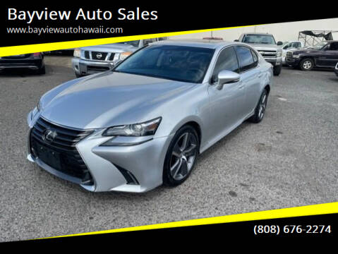 2018 Lexus GS 350 for sale at Bayview Auto Sales in Waipahu HI