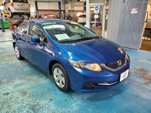 2013 Honda Civic for sale at Stach Auto in Janesville WI