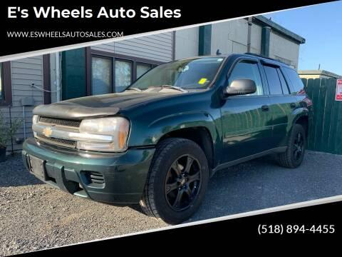 2006 Chevrolet TrailBlazer for sale at E's Wheels Auto Sales in Hudson Falls NY