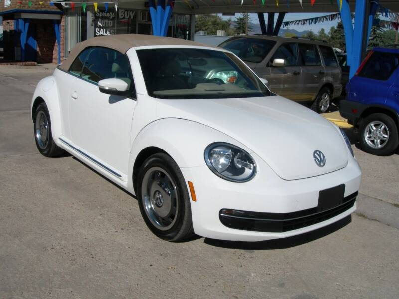 2013 Volkswagen Beetle Convertible TDI 2dr Convertible 6A w/Sound and Navigation - Colorado Springs CO